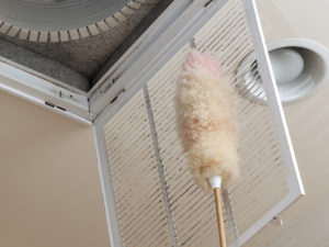 Remove dust from your air ducts