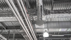 Industrial AC Air Duct work
