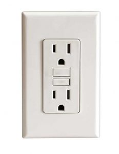 Image of a basic electrical outlet