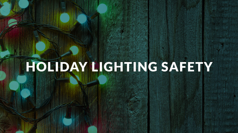 Holiday Lighting Safety